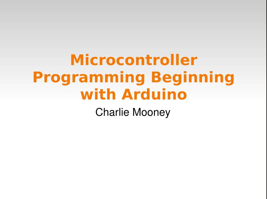 Arduino eBooks